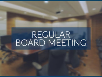 Next Upcoming Board Meeting