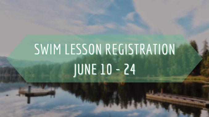 Swim Lesson Registration