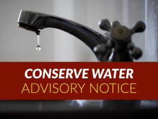 CONSERVE WATER ADVISORY
