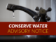 CONSERVE WATER ADVISORY